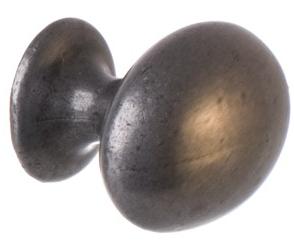 Oval knopp retro antik stil antikfärgad mörk silver tenn färgad shabby chic lantlig stil