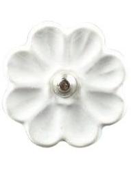 Vit poslinsknopp blomma shabby chic lantlig stil