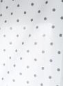 Hissgardin vit med grå prickar 100-160cm Svanefors