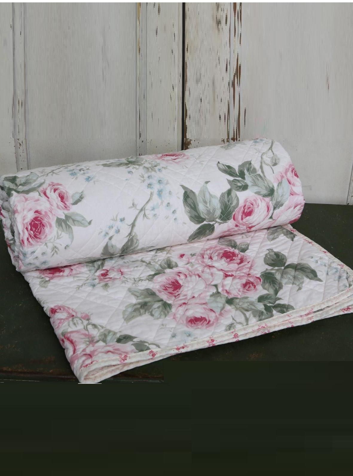 quilt rosor chic antique shabby. Black Bedroom Furniture Sets. Home Design Ideas