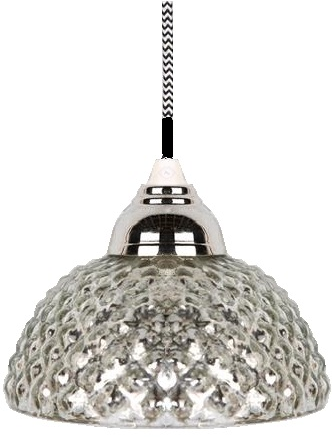 Lampa kotte i fattigmanssilver, kottelampa. Shabby chic lantlig stil.