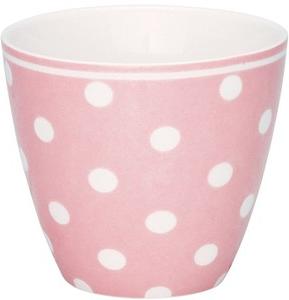 Latte cup naomi pink rosa Greengate shabby chic lantlig stil