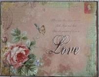 Plåttavla - Love