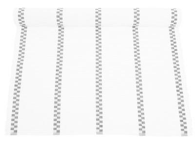 Ripsmatta Petra vit ljusgrå Nyblom shabby chic lantlig stil
