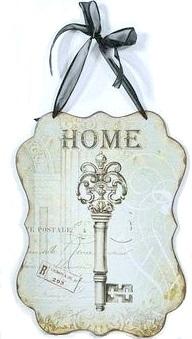 Home plåtskylt shabby chic lantlig stil