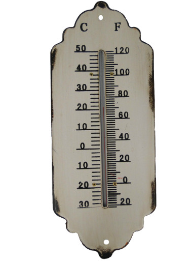 www gardsromantik se Termometer antik vitt shabby chic lantlig stil