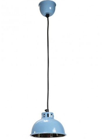 Turkos lampa pendellampa retro shabby chic lantlig stil