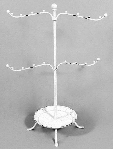 Smyckeshållare smyckesställ Vintage White