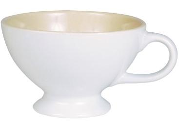 Mynte Jumbokopp kopp mugg vit