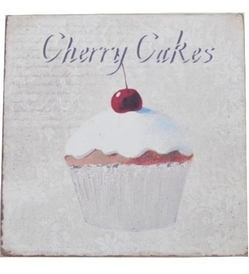 Stor Tavla Kok : lantlig tavla kok  chic lantlig stil tavla cupcake korsbor shabby