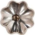 Knopp silver lökformad