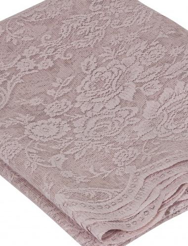Löpare rosa spets rosor duk i shabby chic lantlig stil