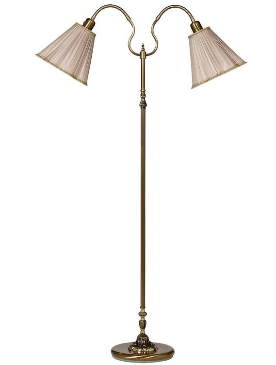 www gardsromantik se Lampskärm gammeldags plizzerad stor 4 färger Golvlampa Läslampa