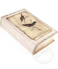 Bokbox Boklåda bokgömma Fåglar shabby chic lantlig stil