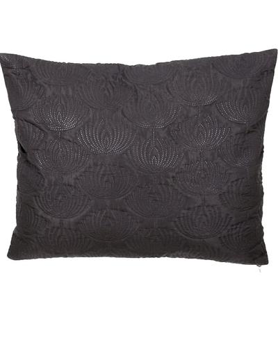 Kuddfodral quilt Art Noveau svart shabby chic lantlig stil