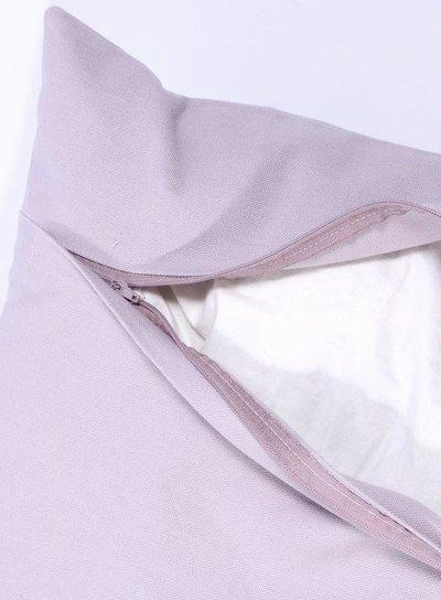 Kuddfodral dimmrosa rosa silver stjärnor new england shabby chic lantlig stil