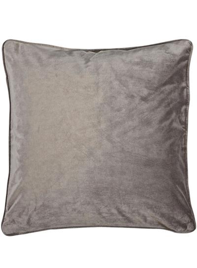 Kuddfodral Velvet linne beige sammet shabby chic lantlig stil