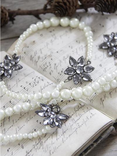 String of pearls - 133 cm