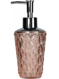 Tvålpump puderrosa diamant shabby chic lantlig stil