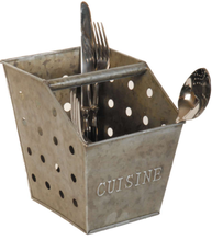 Bestickkorg i zink Cusine fransk lantstil