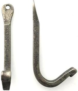 Krok antikgrå smide handsmidd shabby chic lantlig stil