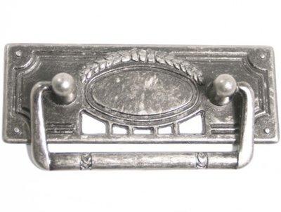 Handtag gammeldags antiksilver