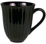 Mynte svart kopp mugg shabby chic lantlig stil
