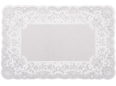 Bordstablett spets  vit shabby chic lantlig stil