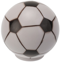 Rund knopp fotboll retro lantlig stil