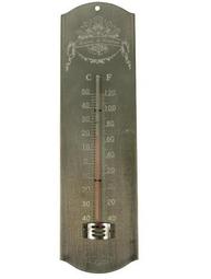 Termometer zink shabby chic lantlig stil