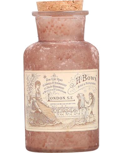 Gammaldags fransk flaska 2 storlekar shabby chic lantlig stil fransk lantstil