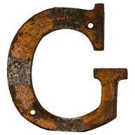 G - rostigt gjutjärn