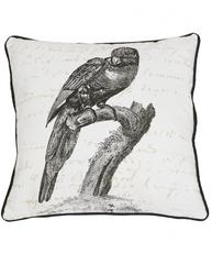 Kuddfodral Parrot shabby chic lantlig stil