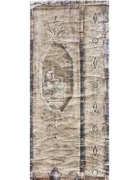 Stor poster handgjord pelare dam shabby chic lantlig stil