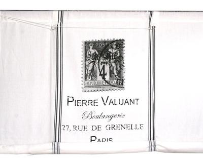 Hissgardin Pierre shabby chic lantlig stil fransk lantstil