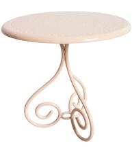 Rosa cafebord bord smide Maileg shabby chic lantlig stil