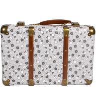 Stor koffert resväska antik vit shabby chic lantlig stil