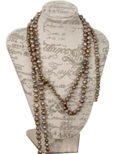 Byst smyckeshållare smyckesställ vintage shabby chic lantlig stil