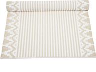 Ripsmatta Ella linne-beige Nyblom shabby chic lantlig stil