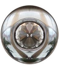 Knopp diamant silver färgad krom shabby chic lantlig stil