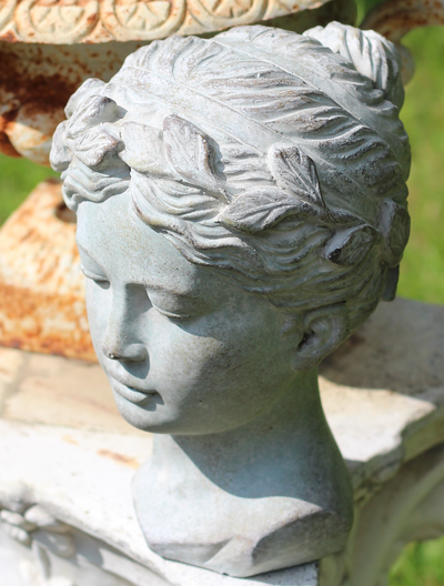 Lady bust romantic shabby chic