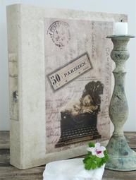 Pärm vintage shabby chic Jeanne d´Arc Living