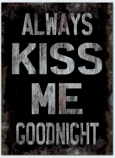 lantlig tavla k?k  www gardsromantik se Stor pl?tskylt Always kiss