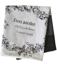 Kökshandduk handduk franskt tryck shabby chic lantlig stil fransk lantstil
