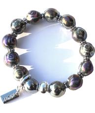 Armband Silver-Pärlemorfärg ziz design