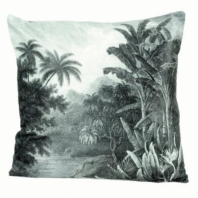 Kuddfodral / Kudde Vintage Palm shabby chic lantlig stil