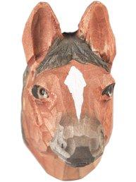 Knopp häst hästhuvud