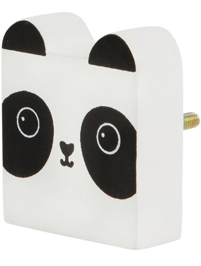Panda Kawaii träknopp shabby chic lantlig stil