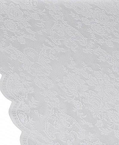 Löpare vit spets rosor duk i shabby chic lantlig stil
