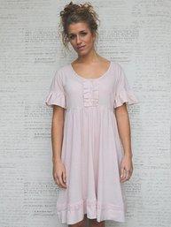 Caroline klänning vintage rose MIEL